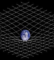 What is the slope of a mountain novice math and science for Space time curvature