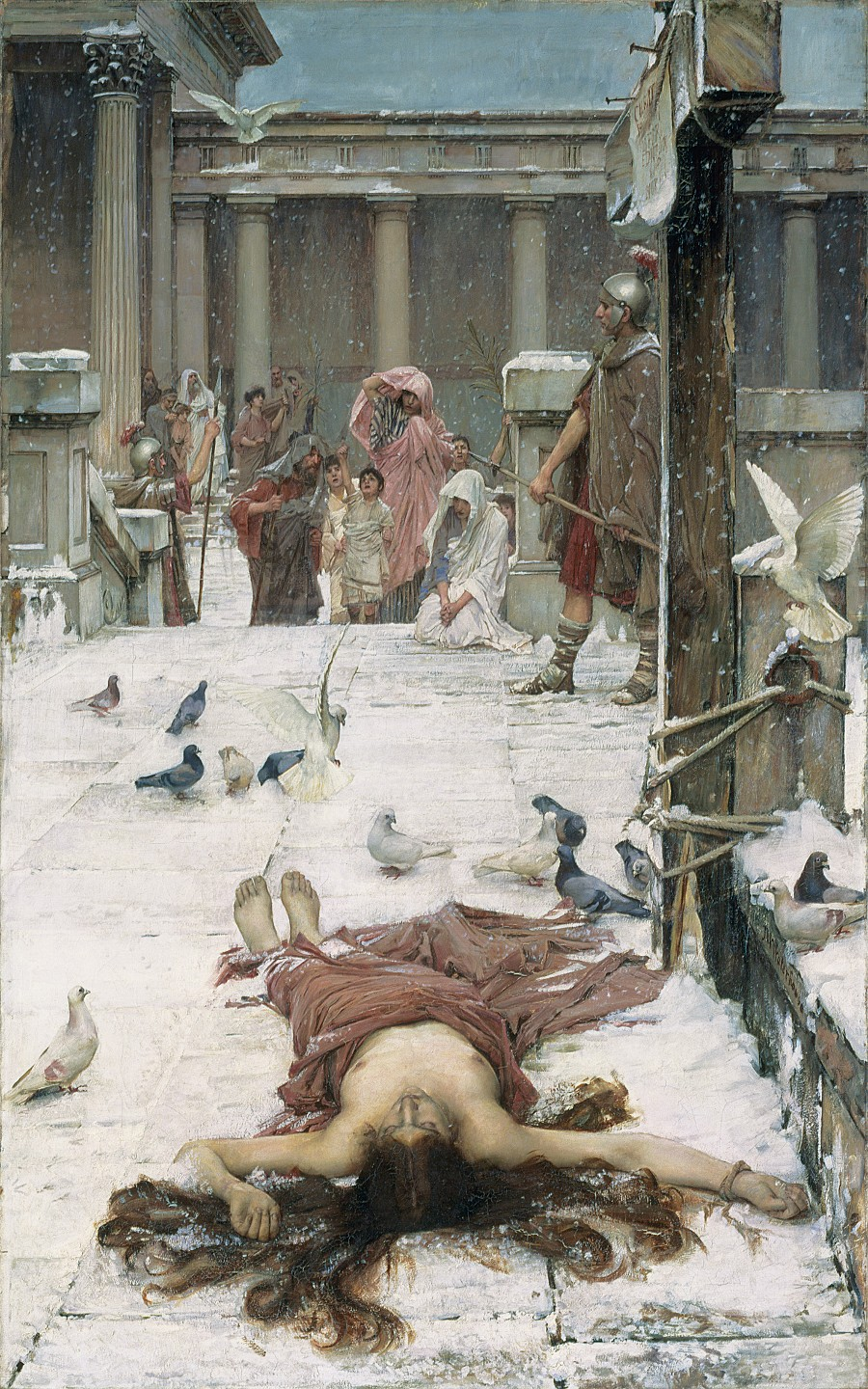 waterhouse eulalia painting