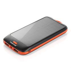 Poweradd Apollo2 10,000mAh Portable Solar Panel Charger External Battery Pack for iPhone 6S / 6 Plus / 5S / 5, Galaxy S6 Edge / S5 / note 5, Nexus 6 and more