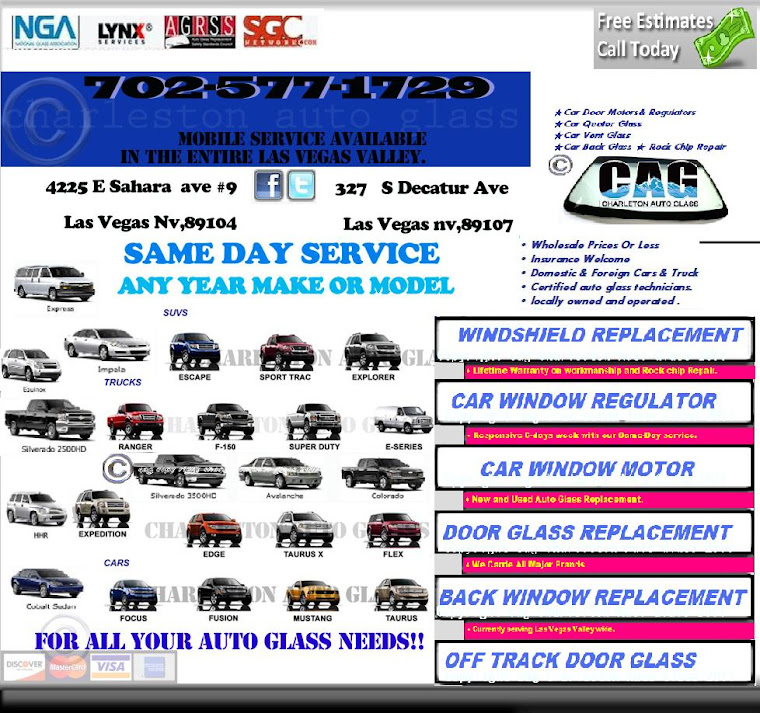 All Auto Glass Replacements for any year make and model