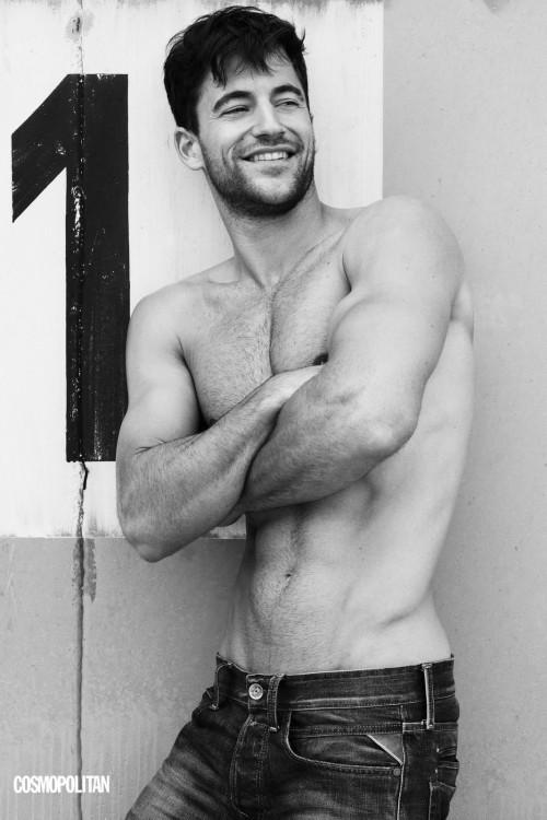 wow naked nude. Hot Black n white men for Cosmopolitan 2012 Calendar ...