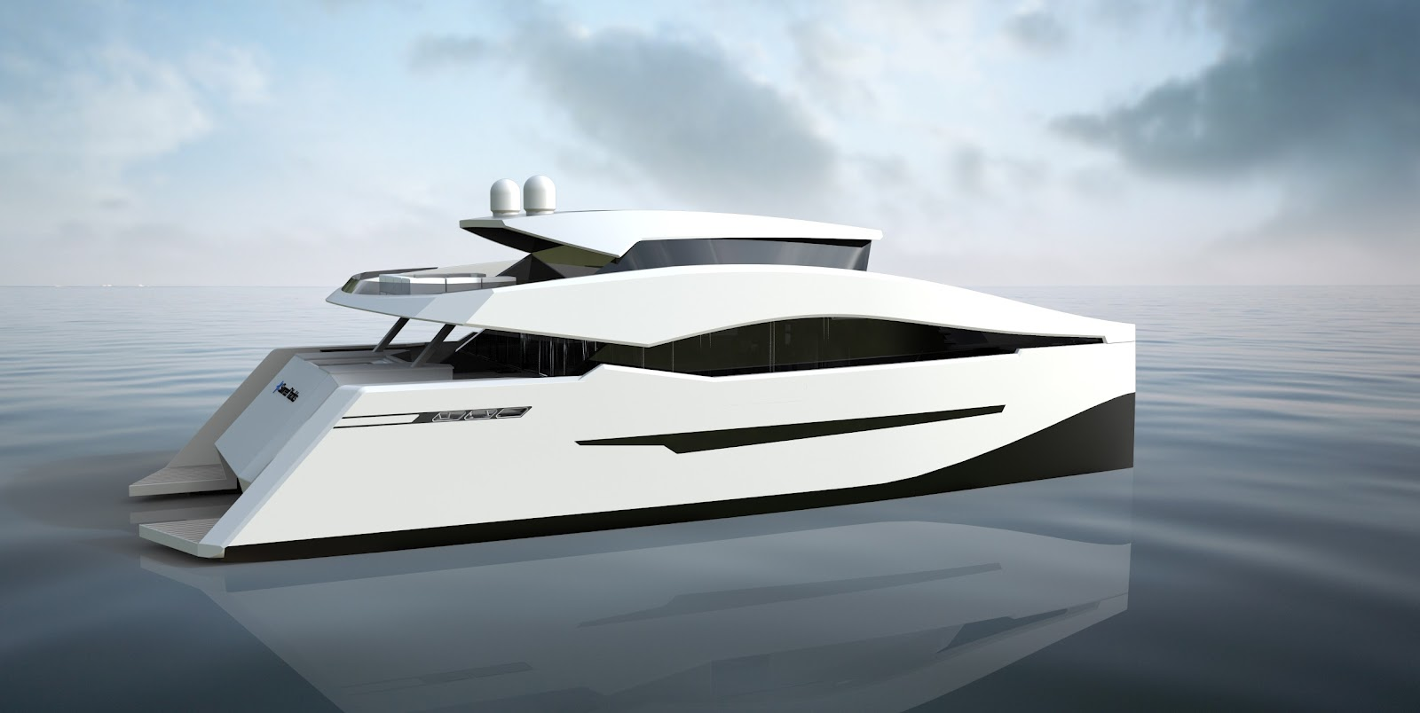 Power catamaran designs -  Motoryacht Clientele Who Will Now Be Able To Enjoy Their Favourite Motoryacht Design And Layout Combined With Catamaran Advantages Such As Stability