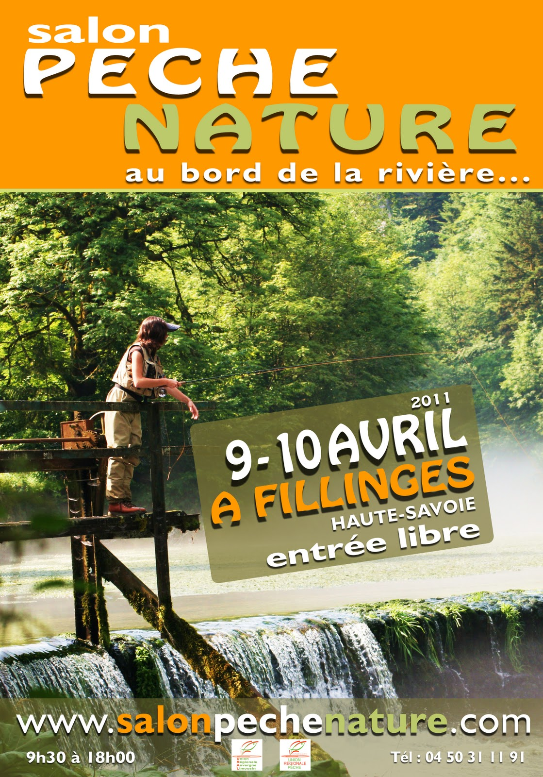 Association salon p che nature for Monteur de stand