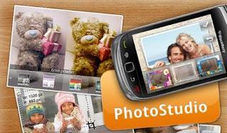 Photo Studio Terbaru V.0.9.8.25 Untuk BlackBerry (Spesial Hari Valentine)