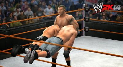 WWE2k14 wrestling videojuego