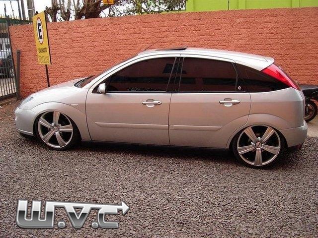 ford focus sedan rebaixado rodas tsw