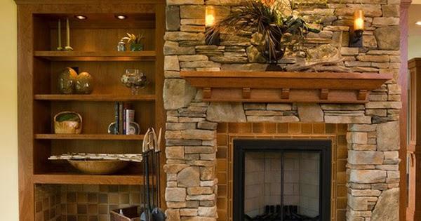 Salas con chimenea ideas para decorar dise ar y mejorar - Chimeneas de ocasion ...