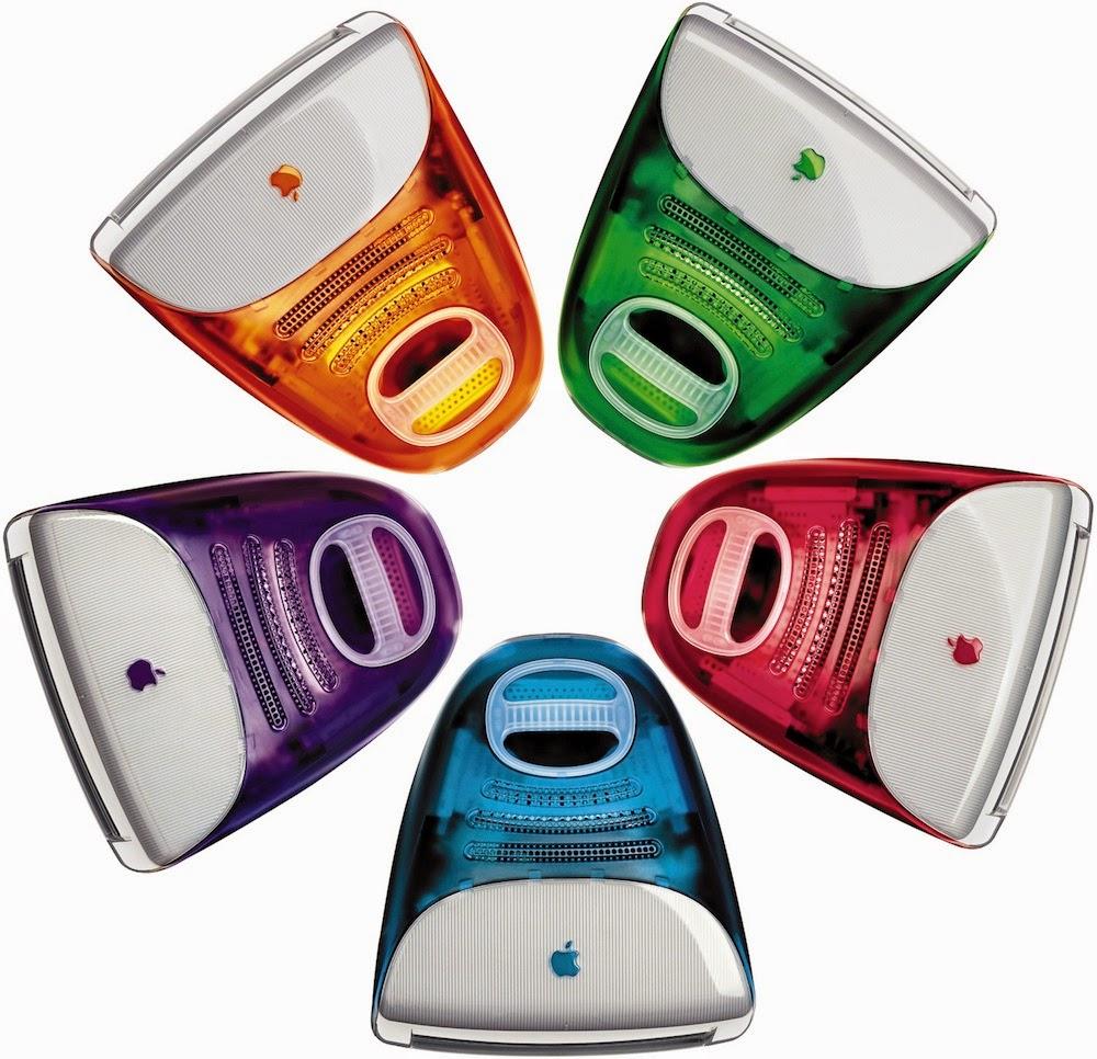 моноблок iMac G3 - разноцветный бум