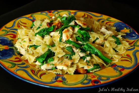 ... Healthy Italian Cooking: Grilled Chicken and Broccoli Rabe over Pasta