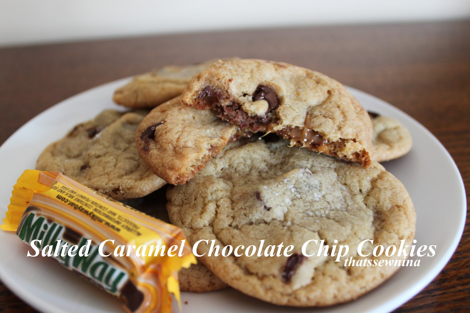 thatssewnina: PINSPIRED: Salted Caramel Chocolate Chip Cookies