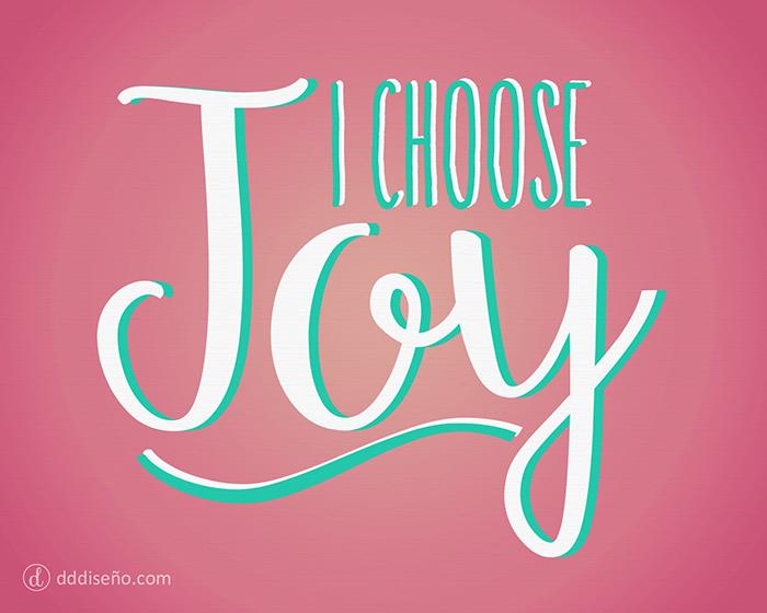 Yo elijo estar alegre