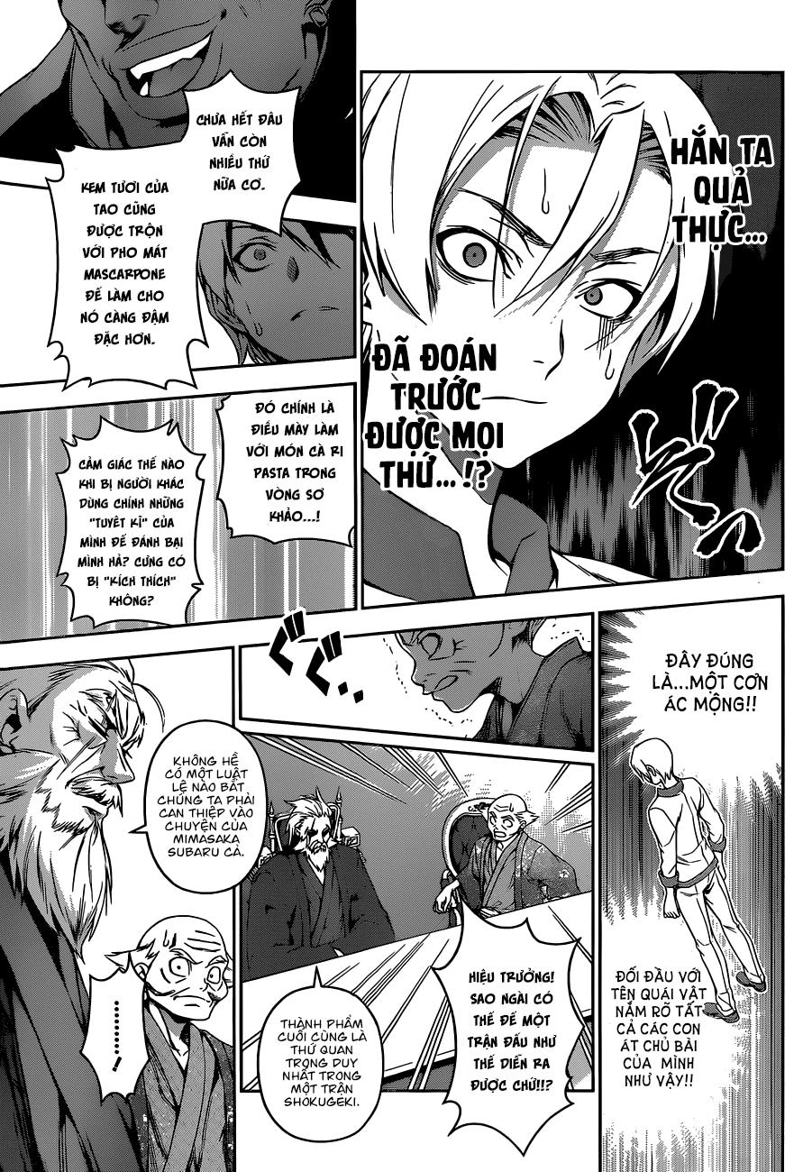 Shokugeki no Soma – Vua bếp Soma chap 77 Trang 15 - Mangak.info