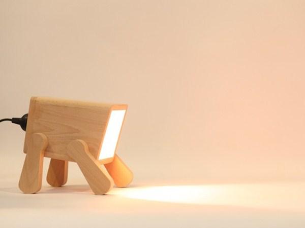 lampu-meja-bentuk-anak-anjing-comel