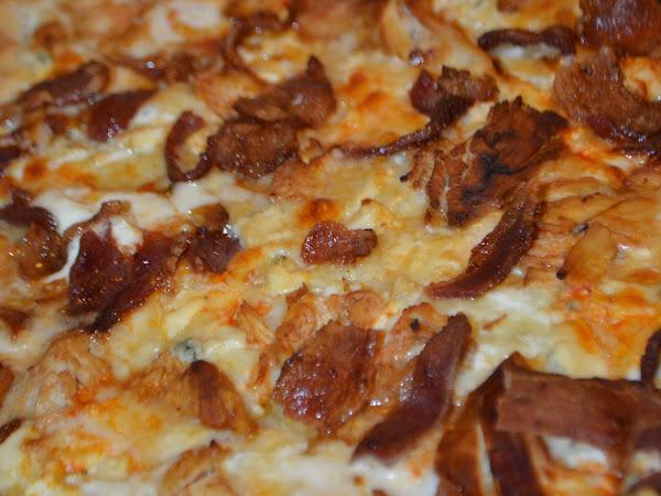 Jalapeno Popper, Buffalo Chicken Pizza (Game Day ?)