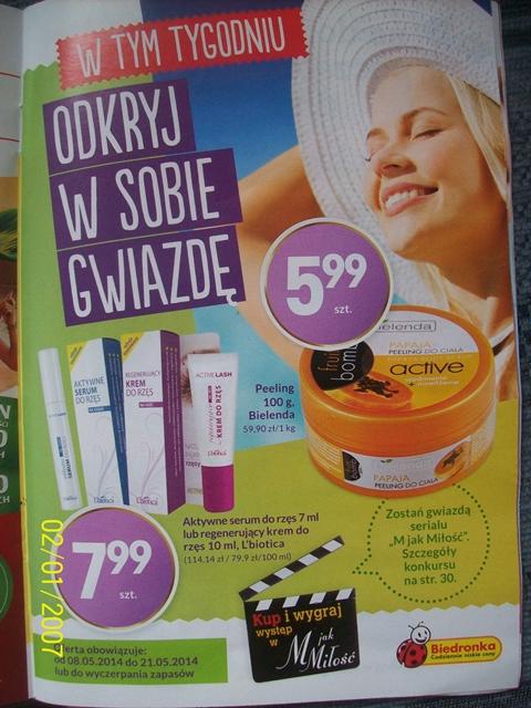 Odkryj w sobie gwiazdę-oferta kosmetyczna Biedronki 8.05-21.05.2014