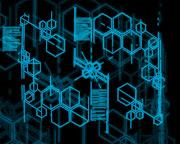 Imagens de Fundo: Hexágonos em azul e fundo preto (hexagonos em azul fundo preto imagens imagem de fundo wallpaper para pc computador tela gratis ambiente de trabalho)