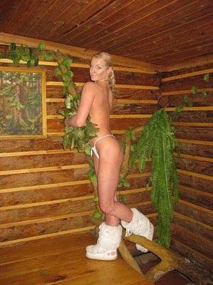 Анастасия Волочкова разделась в бане