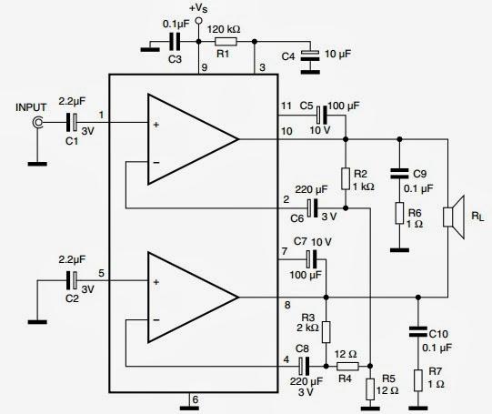 Tda2005 Audio Amplifier 2x10w
