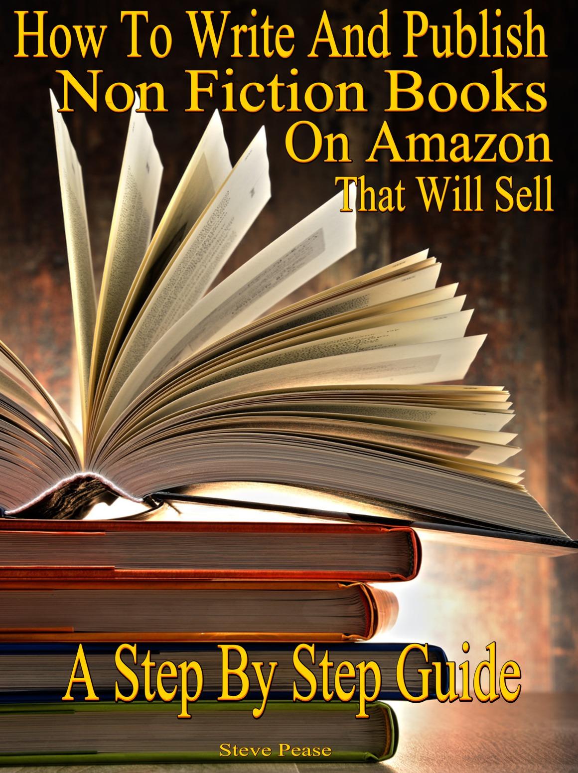 WRITE AND PUBLISH ON AMAZON