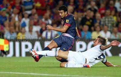 FC Barcelona vs Real Madrid 3-2 resumen goles Supercopa de España 2012