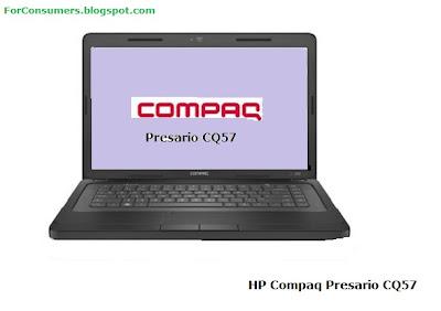 HP Compaq Presario CQ57 laptop