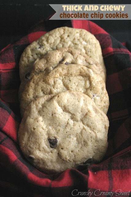 thickandchewyccc CCC Monday: Thick and Chewy Chocolate Chip Cookies