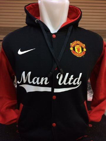 gambar detail Jual jaket hoodie Baseball Manchester united warna hitam merah terbaru musim 2015 di enkosa sport toko online jaket hoodie