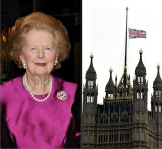 margaret thatcher died
