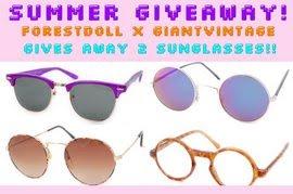 Vintage Sunglasses Giveaway
