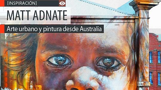 Arte urbano y pintura de MATT ADNATE.