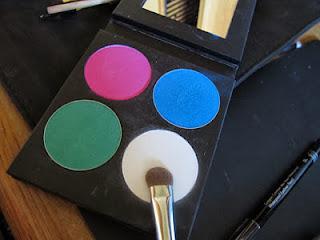 Maquillage des yeux selon la couleur!