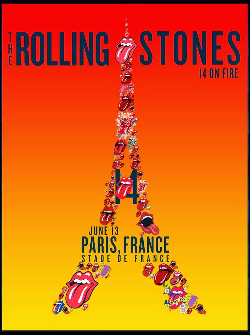 rockerparis the rolling stones stade de france paris june 13 2014. Black Bedroom Furniture Sets. Home Design Ideas
