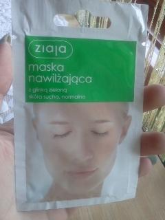 Październik miesiącem maseczek-Ziaja Glinka zielona