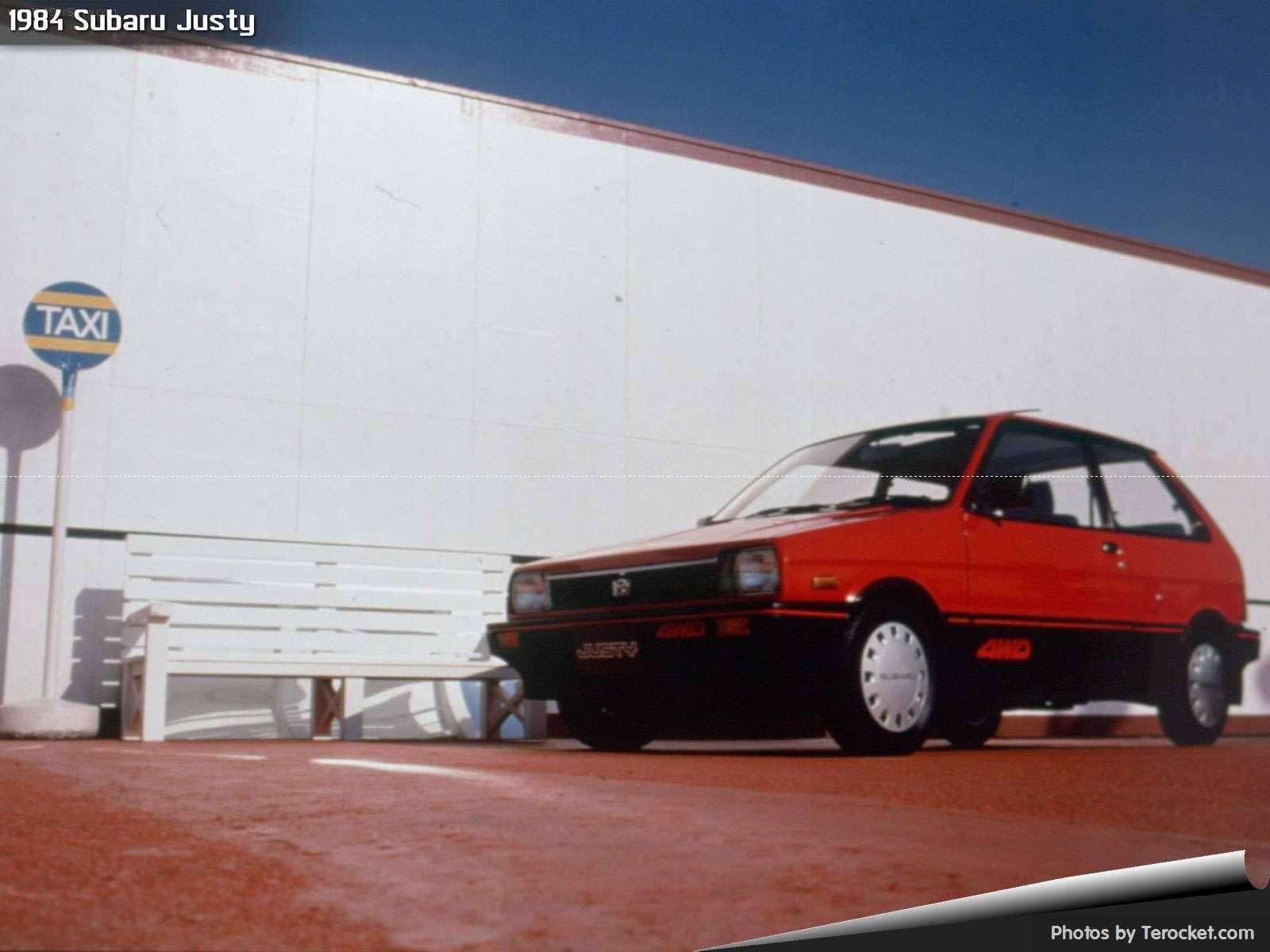 Hình ảnh xe ô tô Subaru Justy 1984 & nội ngoại thất
