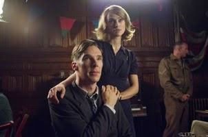 Benedict Cumberbatch y Keira Knightley en The Imitation Game (Descifrando Enigma)