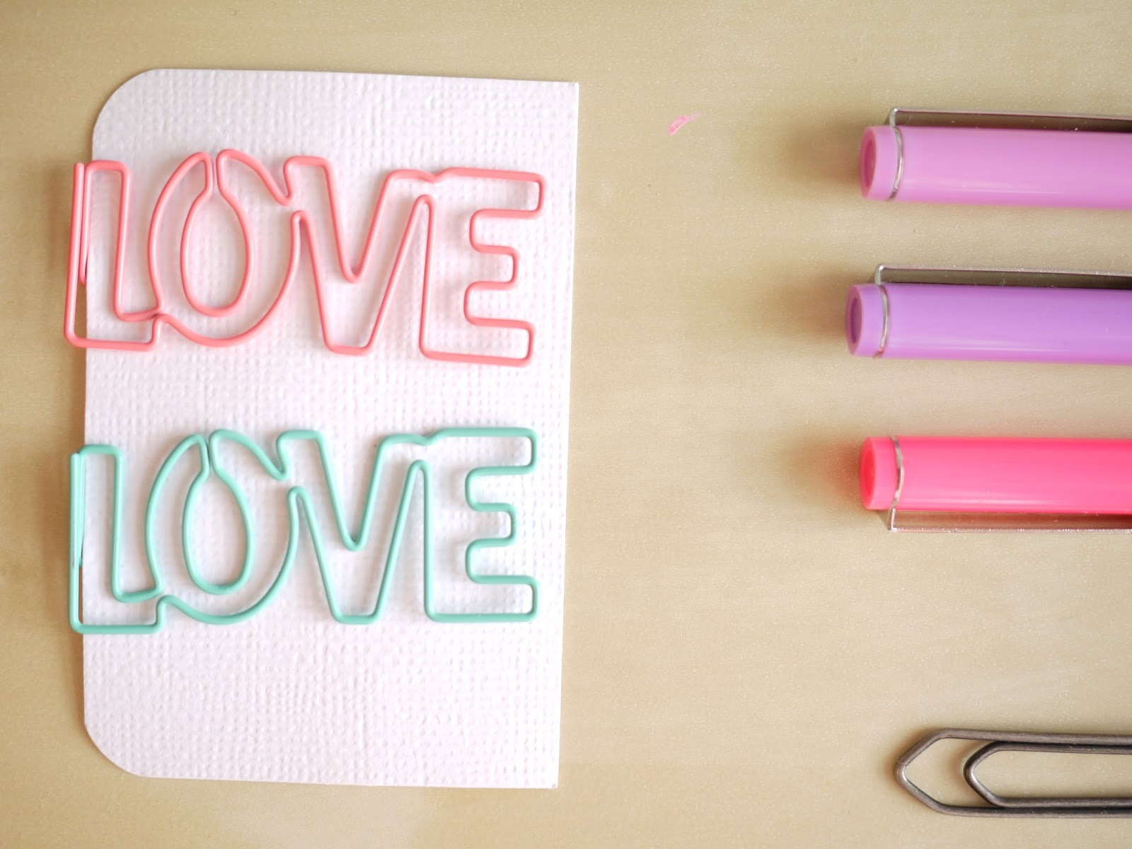 LOVE paperclips