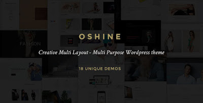 Free Download Oshine v2.0 Creative MultiPurpose WordPress Theme
