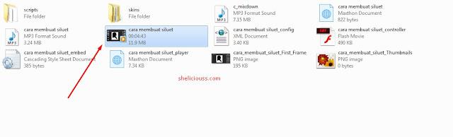 Cara Save atau Export Hasil Rekam Layar Komputer Camtasia Studio Menjadi MP4