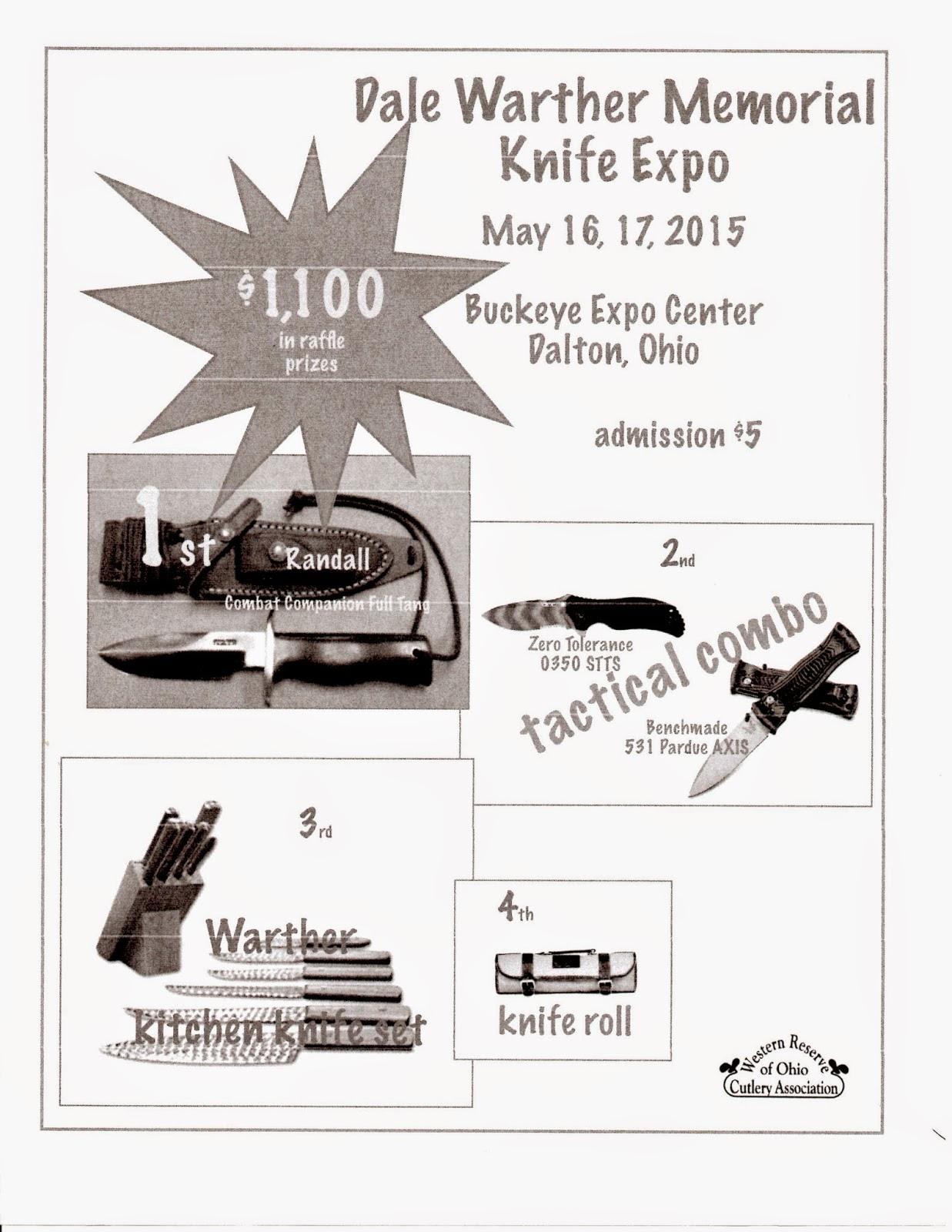 Knife Show Raffle