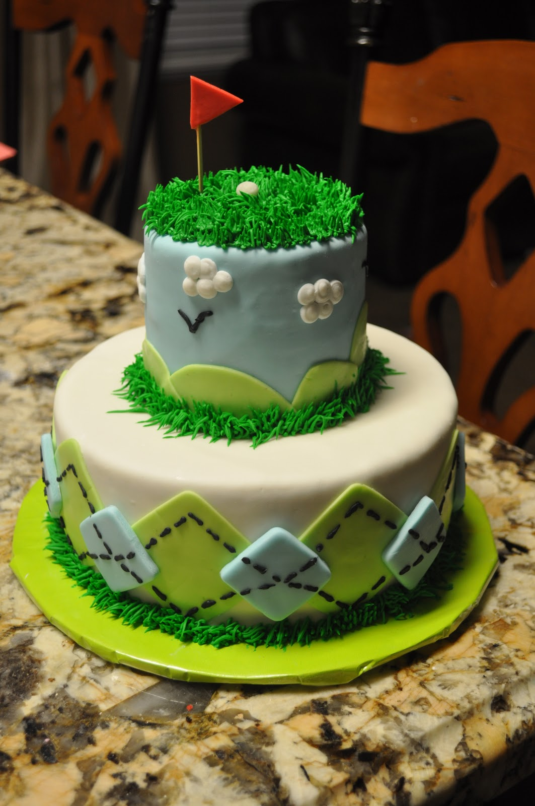 DoodlePie Cakes: Golf Cakes