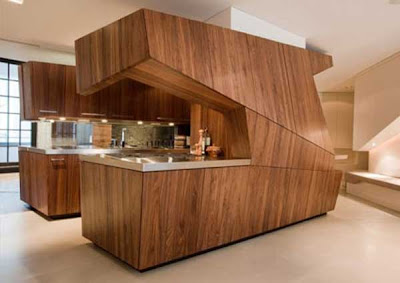 contemporary wooden kitchen design and ideas