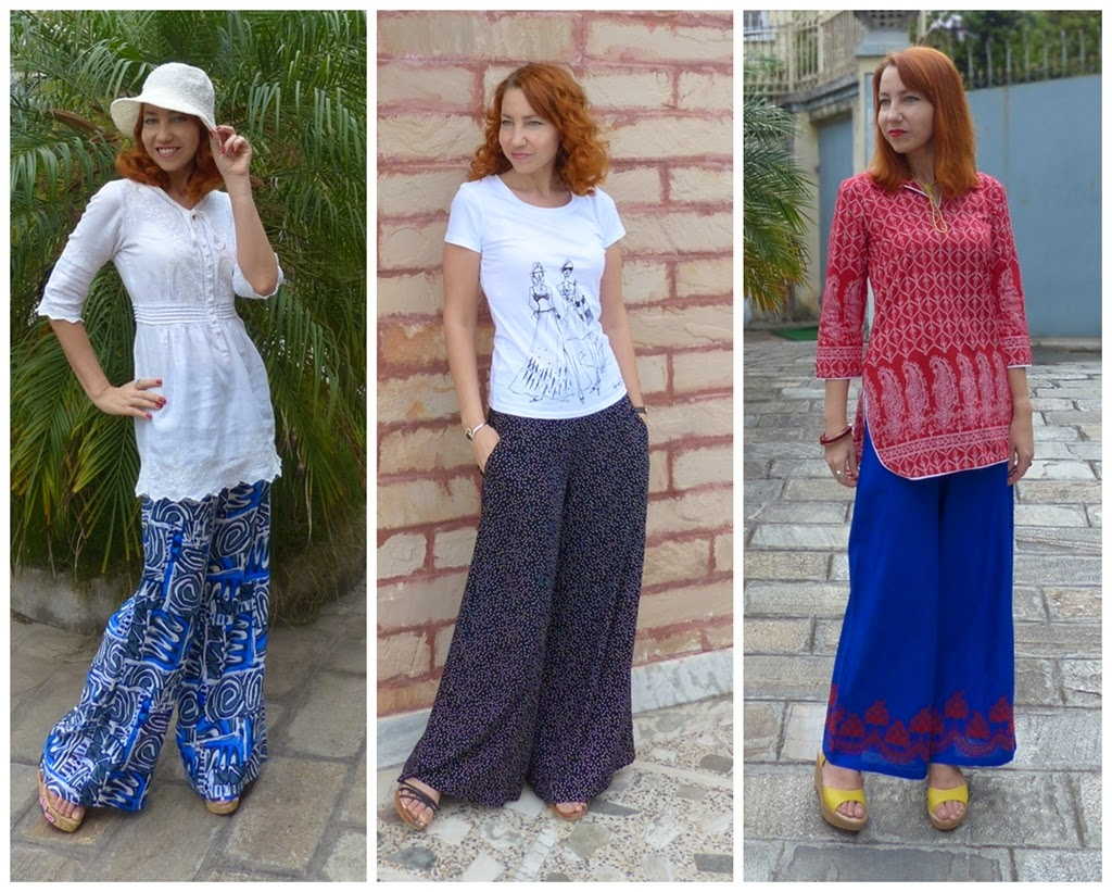 Local style: Wearing palazzo pants