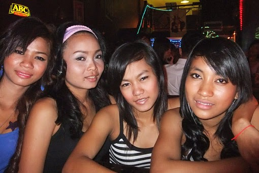 Phnom Penh Bar Girls at 136 street
