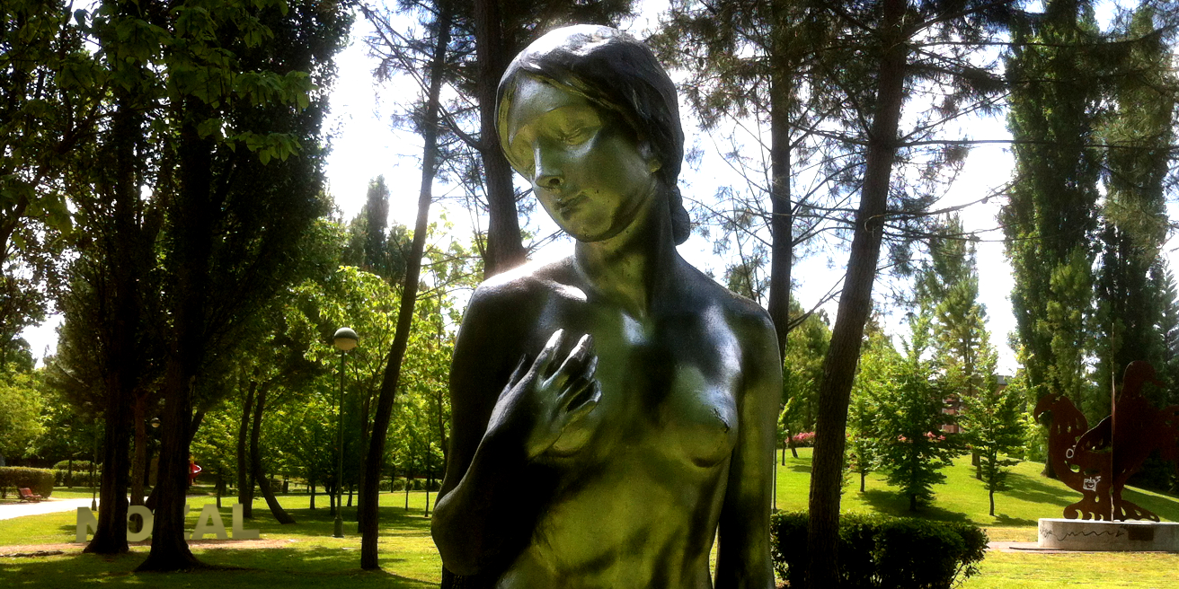 Un bronce para detectar a los cobardes, 2014 Abbé Nozal