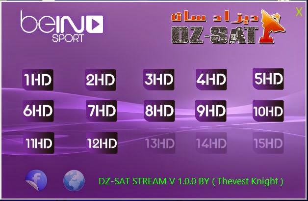 dz-sat live streaming bein sports hd vlc