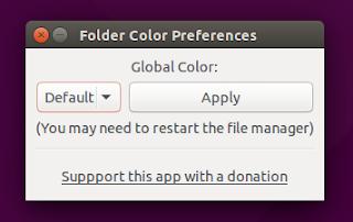 Folder Color