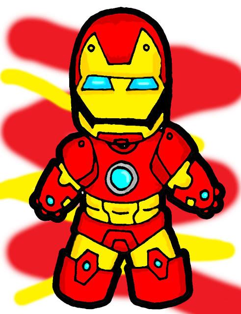 Chibi Ironman W Color por McSick0