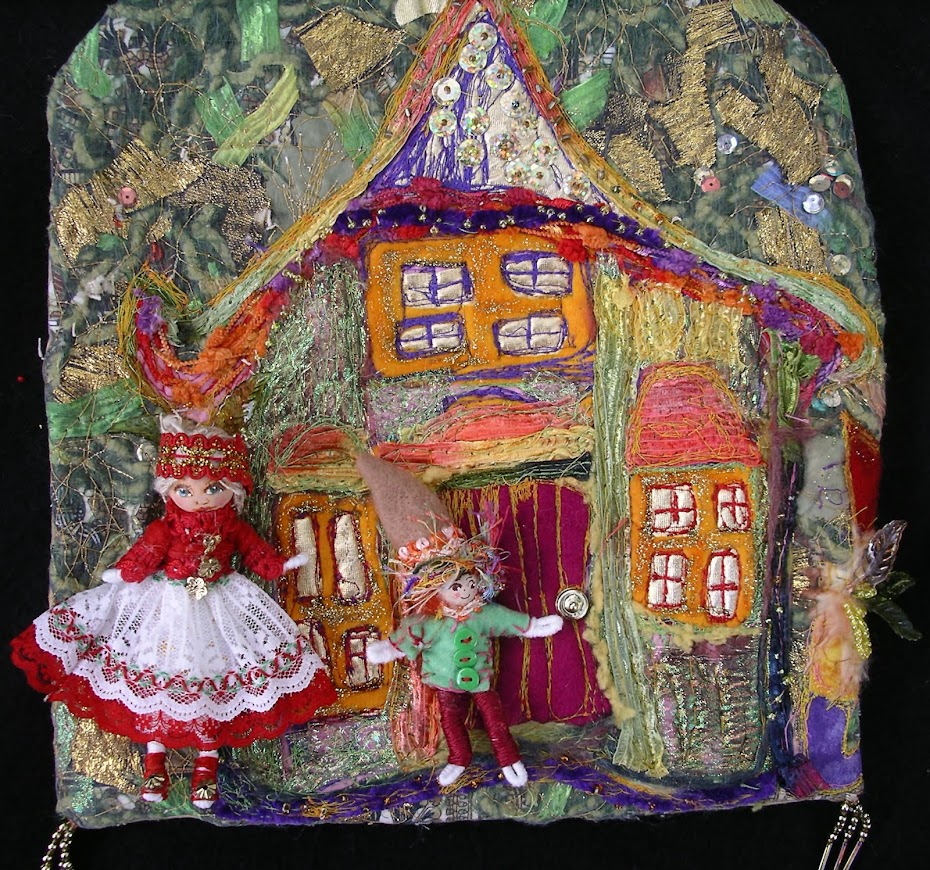 I altered this Fairy House.
