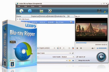 Leawo Blu-ray Ripper 4.5.0