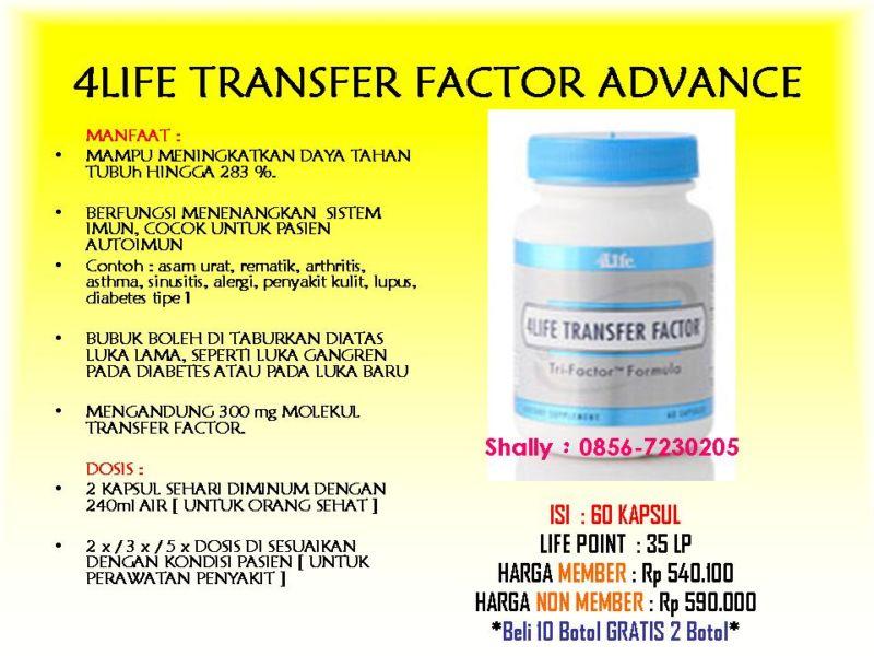 Как похудеть трансфер фактор